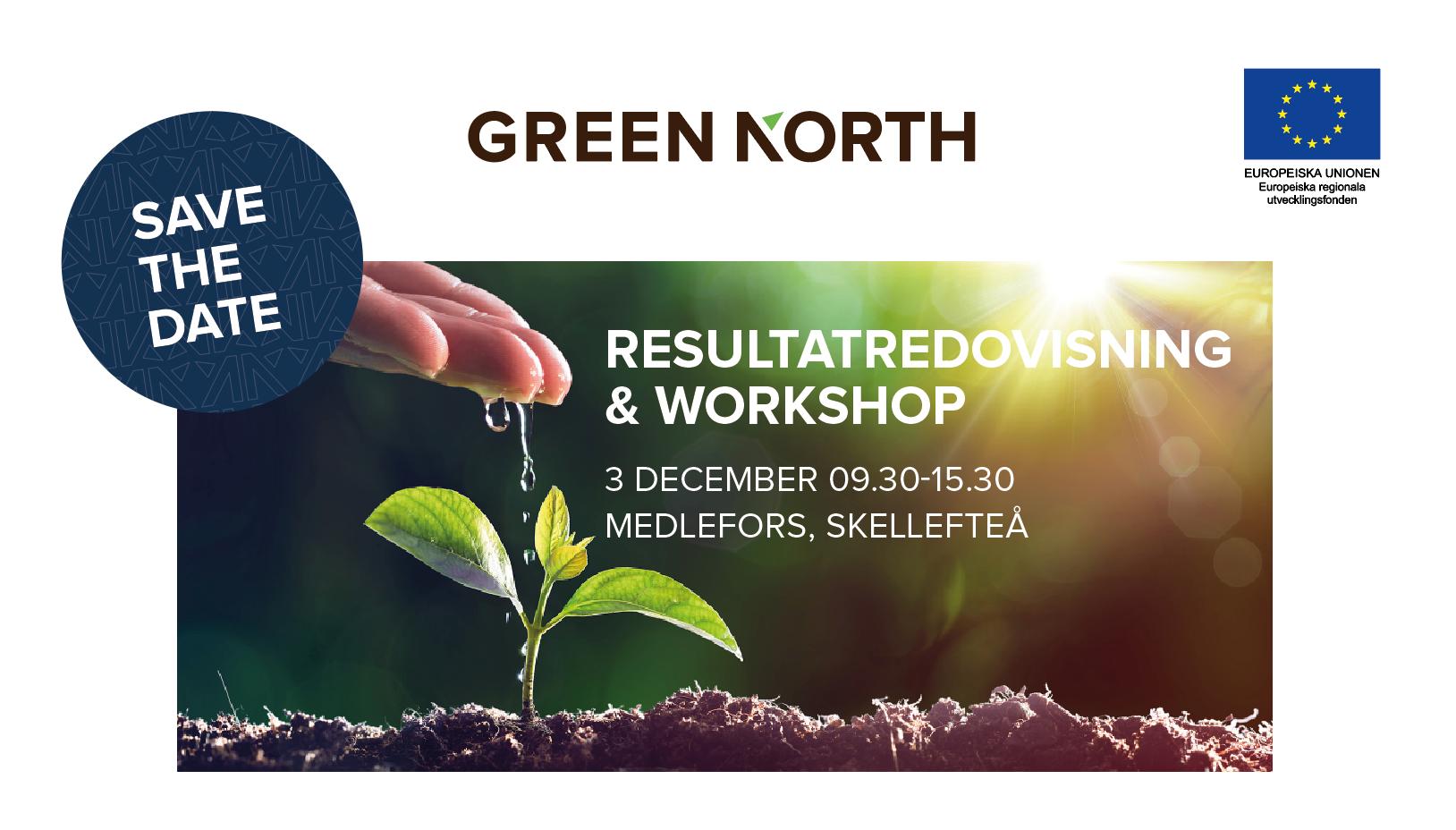 Resultatredovisning & Workshop - 3 December 2019