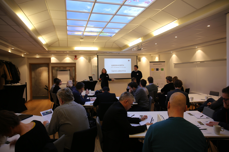 Dag ett av HTC-konferens i Umeå